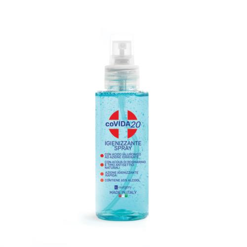 Igienizzante mani con alcool, acido ialuronico e olii emollienti
